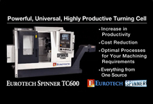 Eurotech/Spinner TC600 CNC Turning Centers