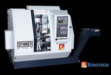 Eurotech/Spinner TTC300 Twin Turret CNC Turn/Mill Centers